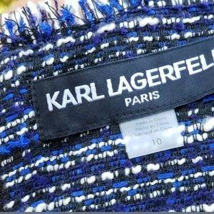 """Karl Lagerfeld Dresses - Karl Lagerfeld Dress Shift Midi Soft Womens 10 36"""""""